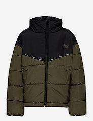 Hummel - hmlVIBRANT JACKET - insulated jackets - olive night - 1