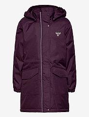 Hummel - hmlJEANNE COAT - ski jackets - blackberry wine - 1