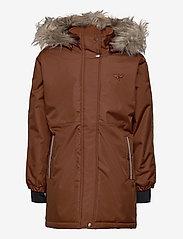 Hummel - hmlLEAF COAT - ski jackets - tortoise shell - 1