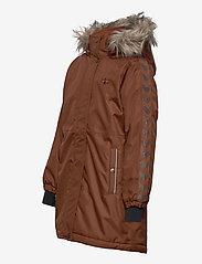 Hummel - hmlLEAF COAT - ski jackets - tortoise shell - 3