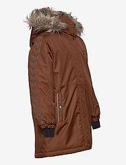 Hummel - hmlLEAF COAT - ski jackets - tortoise shell - 4