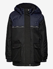 Hummel - hmlWEST JACKET - insulated jackets - black iris - 1