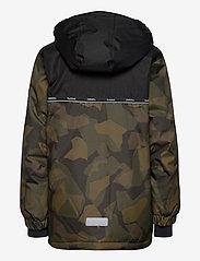 Hummel - hmlWEST JACKET - insulated jackets - olive night/ ecru olive - 2