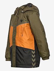 Hummel - hmlCONRAD JACKET - insulated jackets - olive night - 3