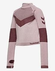 Hummel - hmlKITH SEAMLESS T-SHIRT L/S - long-sleeved t-shirts - deauville mauve - 2