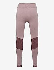 Hummel - hmlKITH SEAMLESS TIGHTS - leggings - deauville mauve - 1