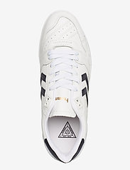 Hummel - HB TEAM LEATHER - laag sneakers - white/navy - 3