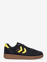 Hummel - HB TEAM SUEDE - laag sneakers - black - 0