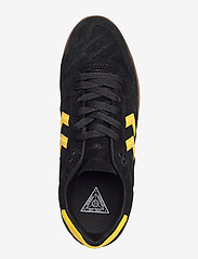 Hummel - HB TEAM SUEDE - laag sneakers - black - 3