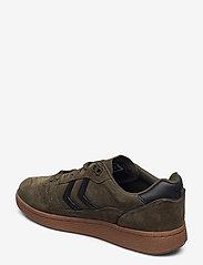 Hummel - HB TEAM SUEDE - laag sneakers - dark green - 2