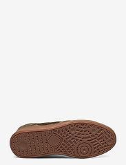 Hummel - HB TEAM SUEDE - laag sneakers - dark green - 4