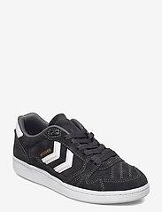 Hummel - HB TEAM SUEDE - laag sneakers - grey - 0