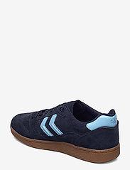 Hummel - HB TEAM SUEDE - laag sneakers - peacoat - 2