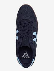 Hummel - HB TEAM SUEDE - laag sneakers - peacoat - 3