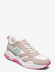Hummel - ALBERTA - laag sneakers - white sand - 1