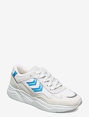 Hummel - BRAGA VINYL - baskets basses - white/blue - 0