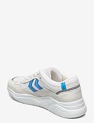 Hummel - BRAGA VINYL - baskets basses - white/blue - 2