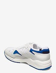 Hummel - EDMONTON PREMIUM - laag sneakers - white/blue - 2