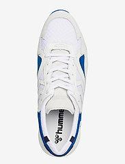 Hummel - EDMONTON PREMIUM - laag sneakers - white/blue - 3