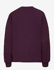 Hummel - hmlSHIKOKO SWEATSHIRT - sweatshirts - blackberry wine - 1