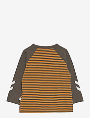 Hummel - hmlSTANTON T-SHIRT L/S - long-sleeved t-shirts - black olive - 1