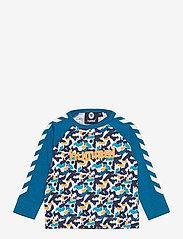 Hummel - hmlRAY T-SHIRT L/S - long-sleeved t-shirts - blue sapphire - 0