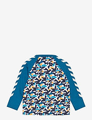 Hummel - hmlRAY T-SHIRT L/S - long-sleeved t-shirts - blue sapphire - 1