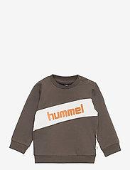 Hummel - hmlCLEMENT SWEAT - sweatshirts - black olive - 0