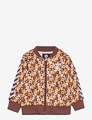 Hummel - hmlDARLA ZIP JACKET - sweatshirts - marron - 0