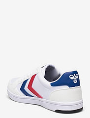 Hummel - STADIL LIGHT CANVAS - laag sneakers - white/blue/red - 2