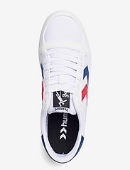 Hummel - STADIL LIGHT CANVAS - laag sneakers - white/blue/red - 3