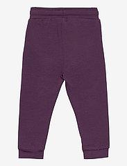 Hummel - hmlFUTTE PANTS - sports pants - blackberry wine - 1