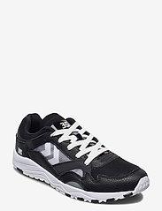 Hummel - EDMONTON 3S LEATHER - laag sneakers - black - 1