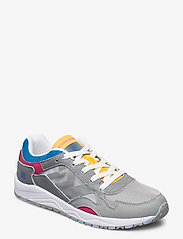 Hummel - EDMONTON 3S LEATHER - laag sneakers - sharkskin - 0