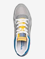 Hummel - EDMONTON 3S LEATHER - laag sneakers - sharkskin - 3