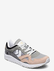 Hummel - EDMONTON 3S SUEDE - laag sneakers - sharkskin - 1