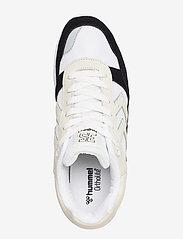 Hummel - 3-S SPORT SUEDE HIVE - laag sneakers - black - 3
