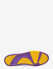 Hummel - POWER PLAY VEGAN ARCHIVE - laag sneakers - white/dahlia purple/geranium - 4