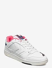 Hummel - POWER PLAY VEGAN ARCHIVE - laag sneakers - white/black/pink - 1