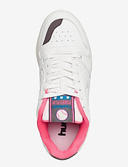 Hummel - POWER PLAY VEGAN ARCHIVE - laag sneakers - white/black/pink - 3