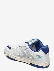 Hummel - POWER PLAY VEGAN ARCHIVE - laag sneakers - white/blue/green - 2