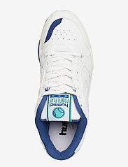 Hummel - POWER PLAY VEGAN ARCHIVE - laag sneakers - white/blue/green - 3