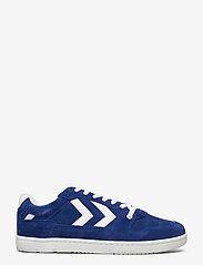 Hummel - POWER PLAY SUEDE - laag sneakers - mazarine blue - 0