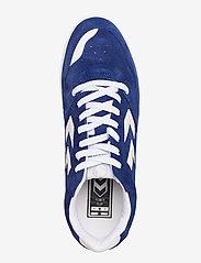 Hummel - POWER PLAY SUEDE - laag sneakers - mazarine blue - 3