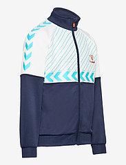 Hummel - hmlDENNIS ZIP JACKET - sweatshirts - black iris - 3