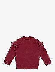 Hummel - hmlBLESS ZIP JACKET - sweatshirts - cabernet - 1