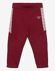 Hummel - hmlBLESS PANTS - sweatpants - cabernet - 0