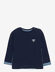 Hummel - hmlWEST CREWNECK - sweatshirts - black iris - 0