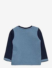 Hummel - hmlWEST CREWNECK - sweatshirts - black iris - 1