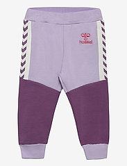 Hummel - hmlVIOLA PANTS - sweatpants - pastel lilac - 0
